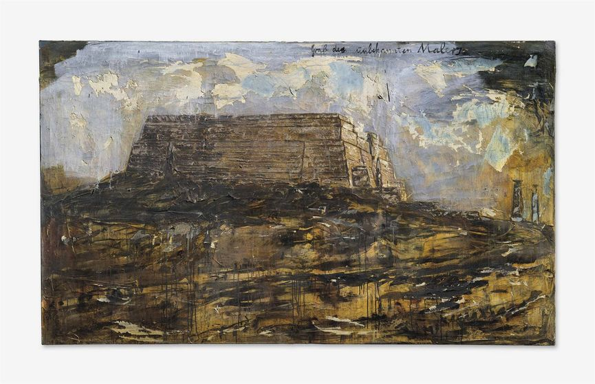 Anselm Kiefer - Grab des unbekannten Malers (Tomb of the Unknown Painter), 1983