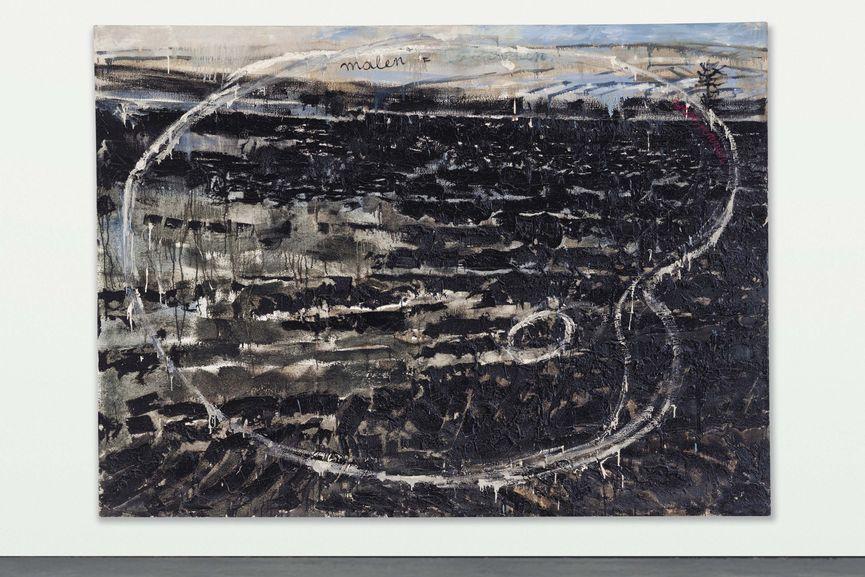Anselm Kiefer - Malen = Verbrennen, 1974