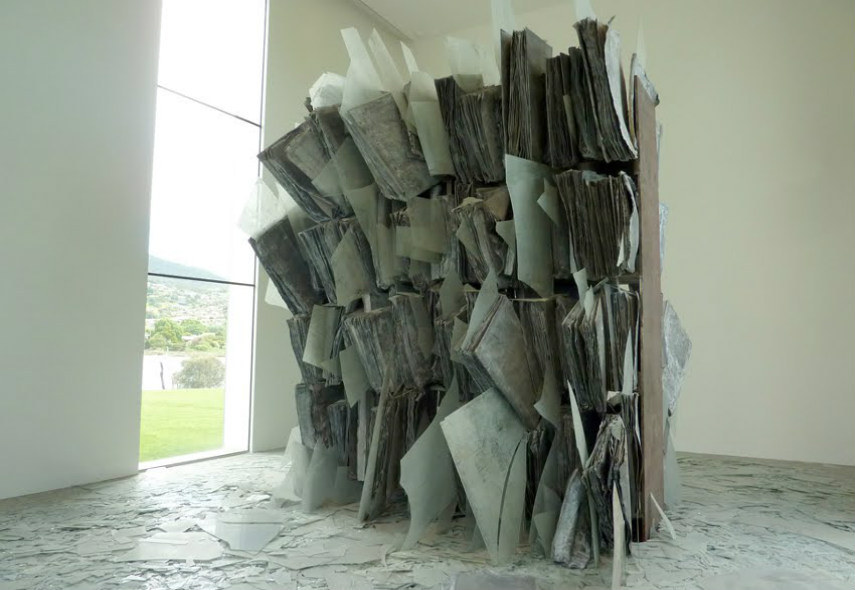 Anselm Kiefer has a plan for modern installation and Anselm Kiefer is searching gallery contact