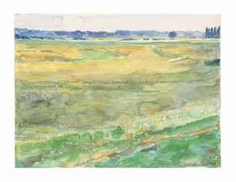 Anselm Kiefer-Sommer (Summer)-1970