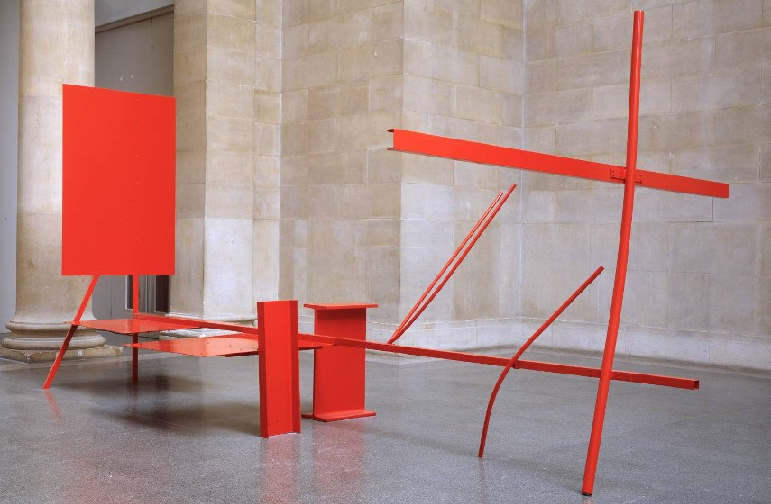 Anthony Caro - Early One Morning, 1962, photo credits the estate of Anthony Caro Barford  Ltd
