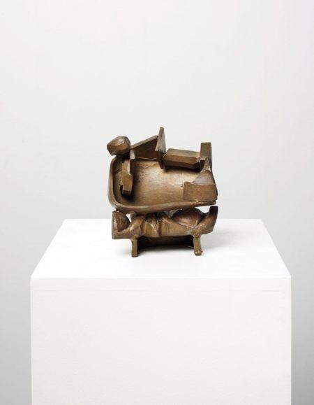 Anthony Caro-Small Bronze 'n' (b.1602)-1983