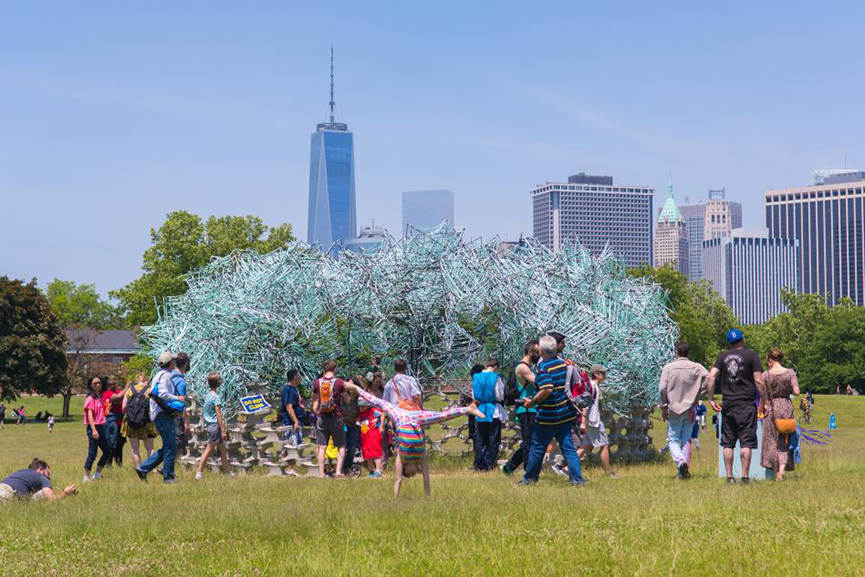 Best Public Art Installations in ny 2015