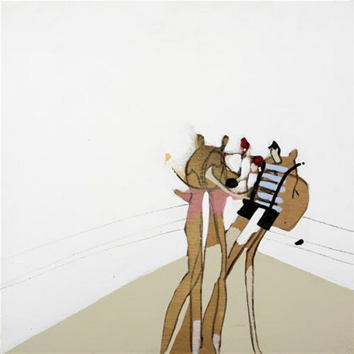 Anthony Lister-Boxing Puppets-2005
