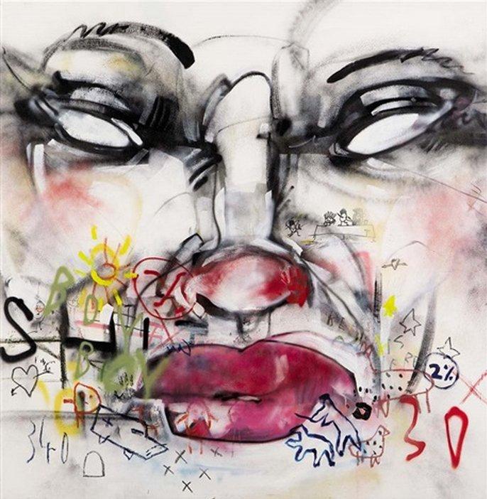 Anthony Lister-Cap Me Thrice-2011