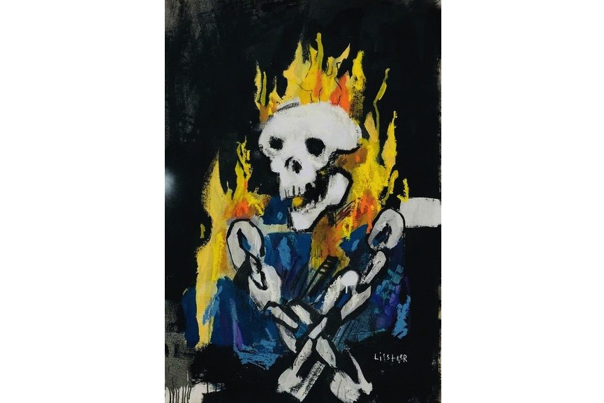 Anthony Lister - Ghost Rider, 2018