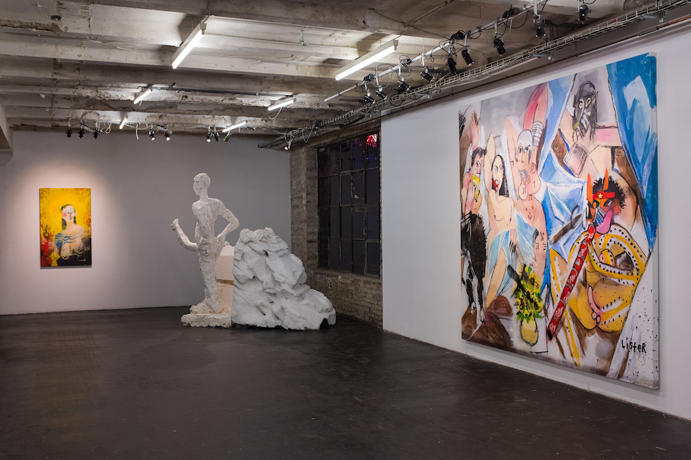 Anthony Lister, Installation view
