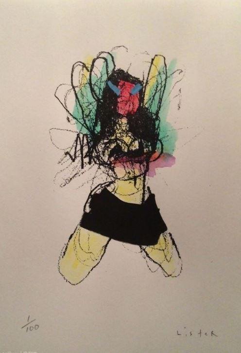 Anthony Lister-Mini Skirt Dancer-
