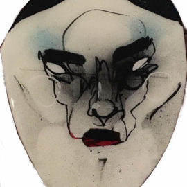Anthony Lister-Street Mask 8-2011