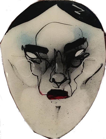 Anthony Lister-Street Mask 8-2011