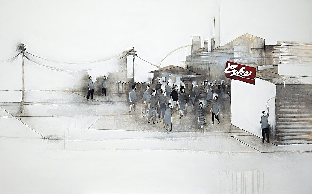 Anthony Lister-Street Signs-2006