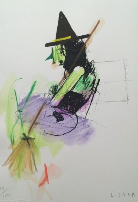 Anthony Lister-The Witch-2015