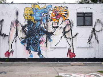Anthony Lister - Urban Spree mural, 2018