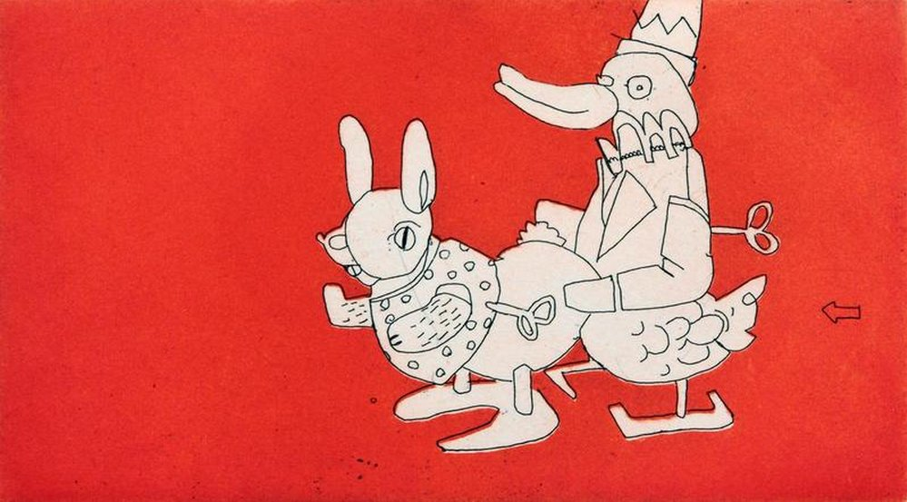 Anthony Lister-Wind Up Rabbit Rooter-2007