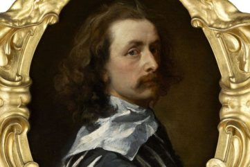 anthony van dyck, mark wallinger, dulwich picture gallery