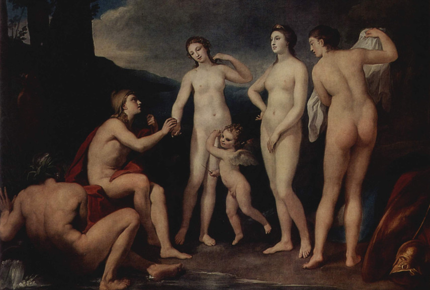 Anton Raphael Mengs - Judgement of Paris - Image via oceanbridgecom
