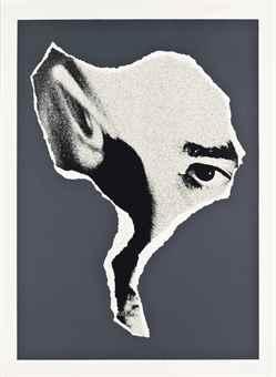 Antonio Saura-Moi (Antirretratos)-1976