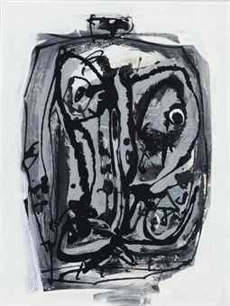 Antonio Saura-Tete-1981