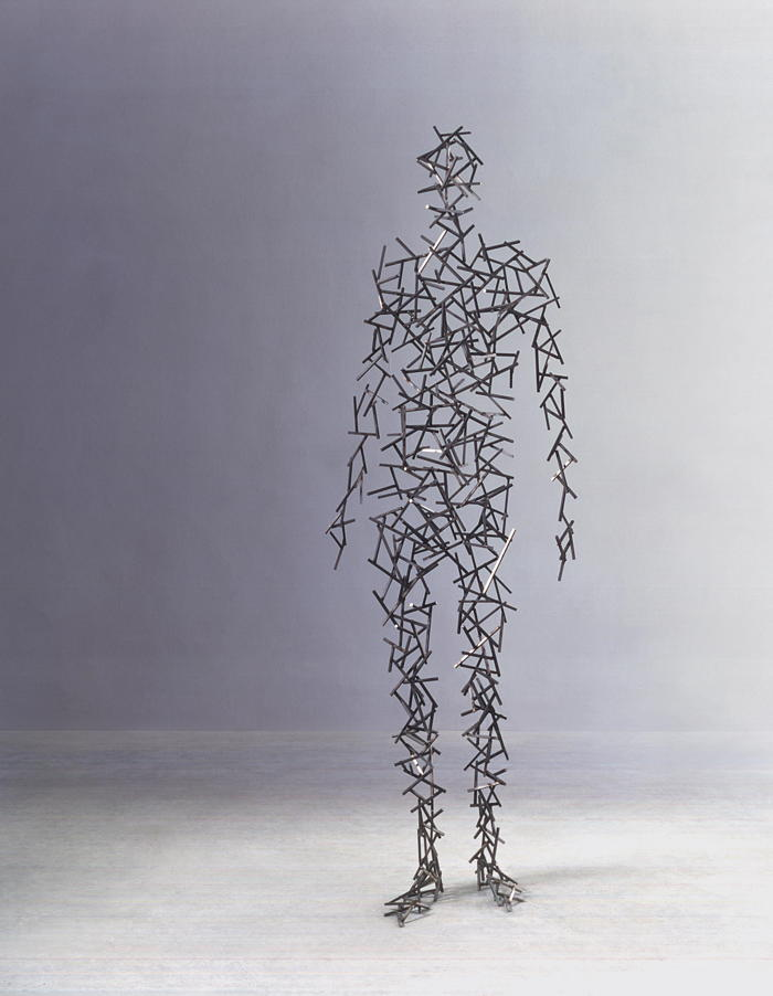 Antony Gormley-Domain XV-2000