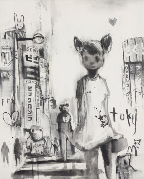 Antony Micallef-Girl In Shibuya-2005