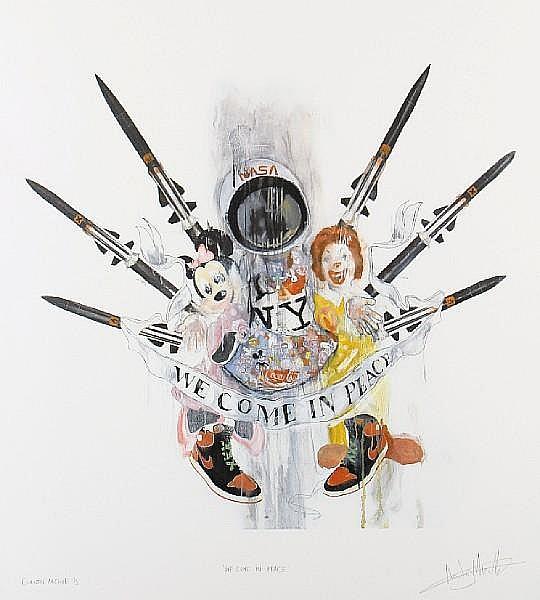 Antony Micallef-We Come in Peace-