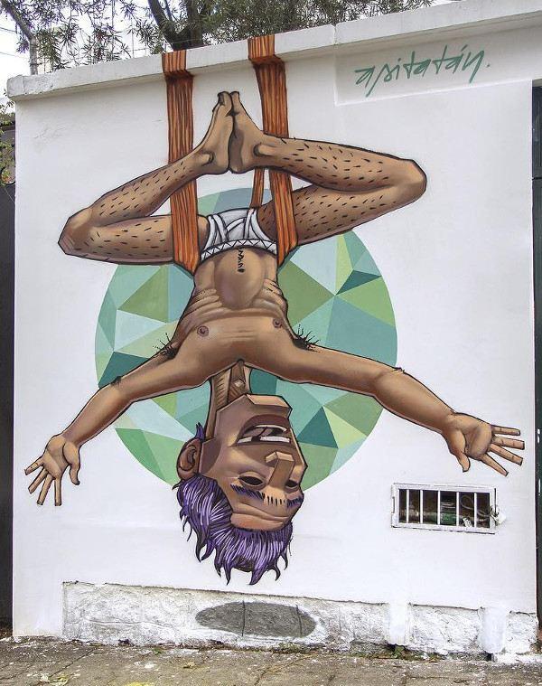 Apitatan - Hanging man - Quito, Ecuador 2016