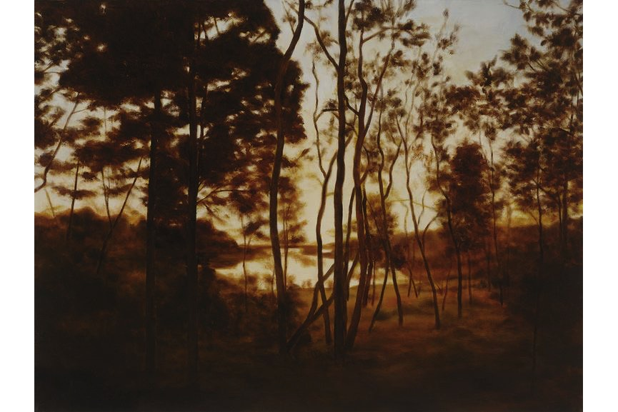 April Gornik - Fall Forest Light, 2015
