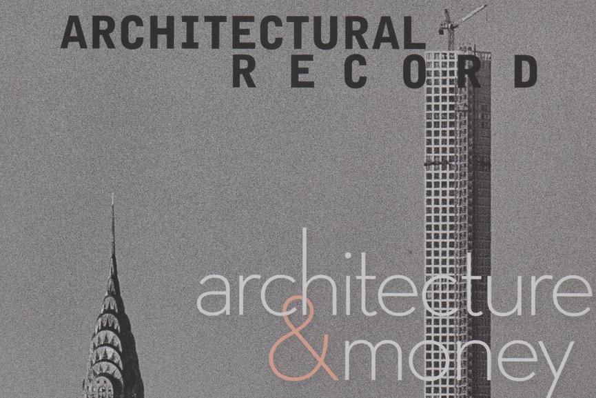 Architectural Record Cover