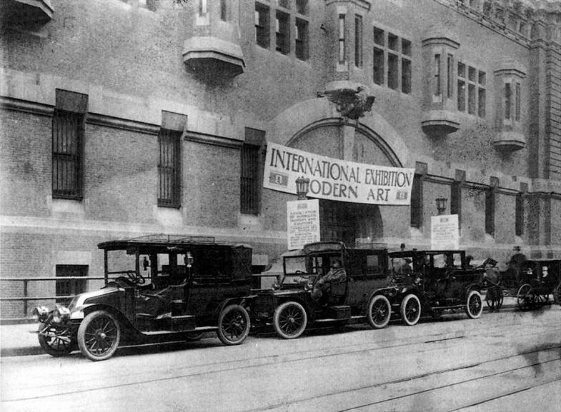 Armory Show entrance