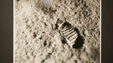 Armstrong, Footprint on the Moon, Apollo 11