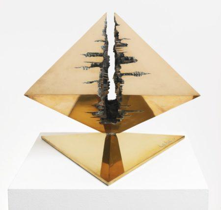 Arnaldo Pomodoro-Uccello: A Brancusi Studio Ii-1982