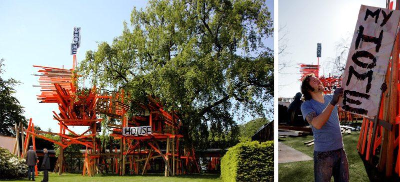 Arne Quinze - My Home My House My Stilthouse, 2010 - Copyright Arne Quinze