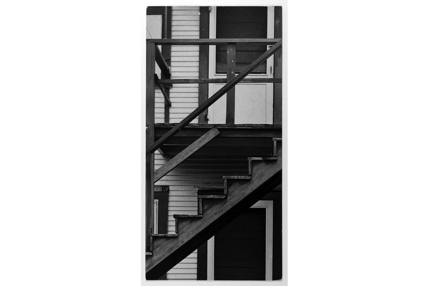 Arnold Newman - Clapboard House, West Palm Beach, FL, 1940
