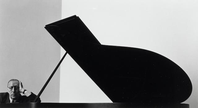 Arnold Newman-Igor Stravinsky, New York City-1946