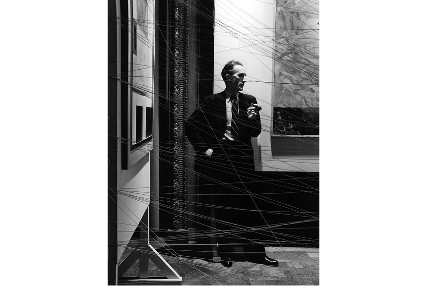 Marcel Duchamp, NYC, 1942