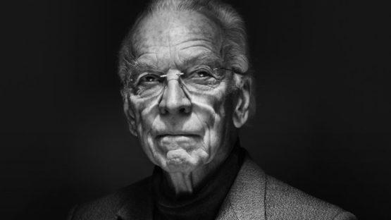 Arnold Odermatt portrait (detail) for the showcase Swiss photography photo14,2014, photo by Silvan Bucher