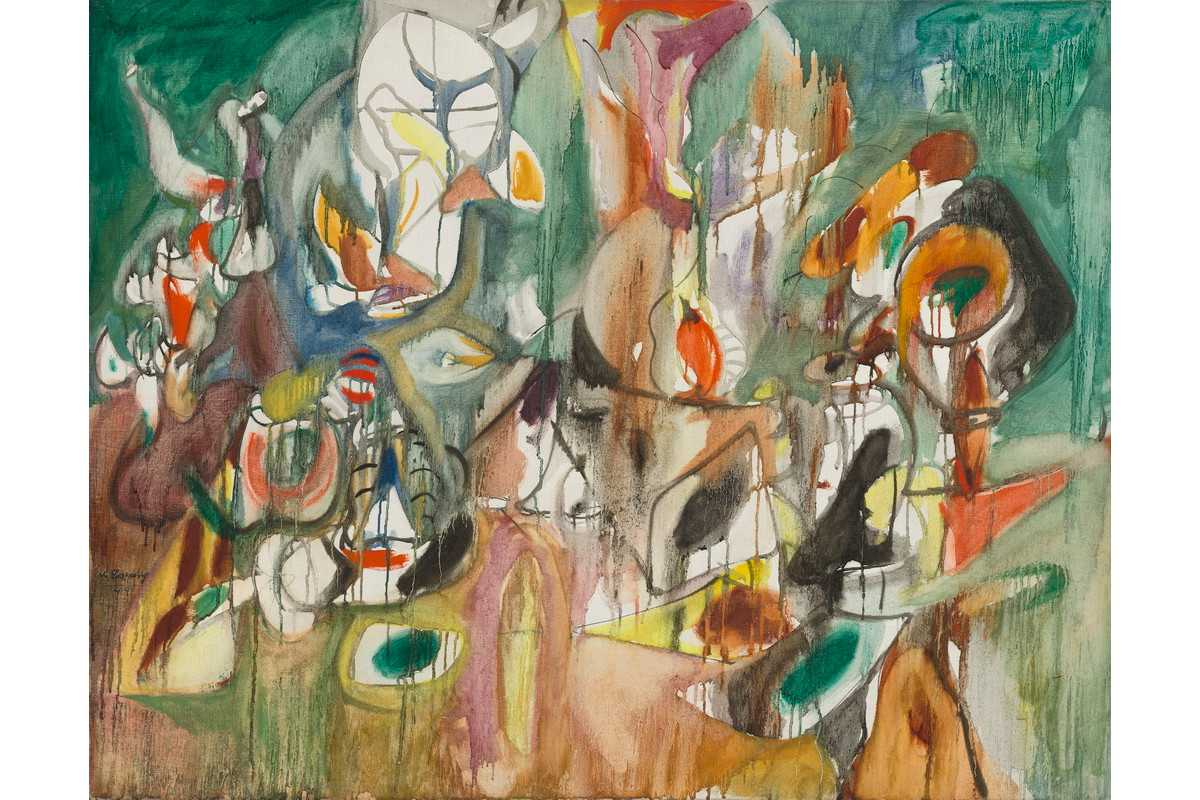 Arshile Gorky - One Yeart The Milkweed