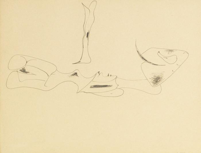 Arshile Gorky-Untitled-1946