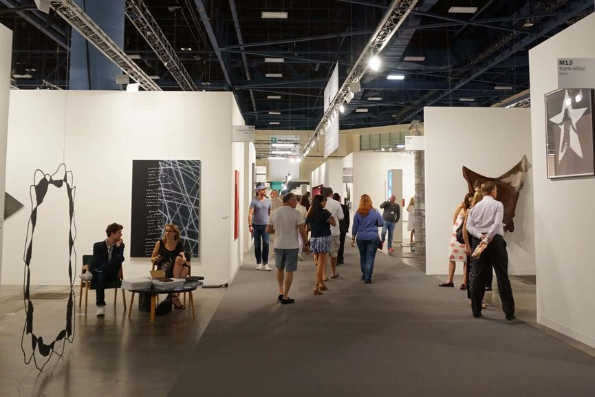 The Installation view of Art Basel Miami 2016