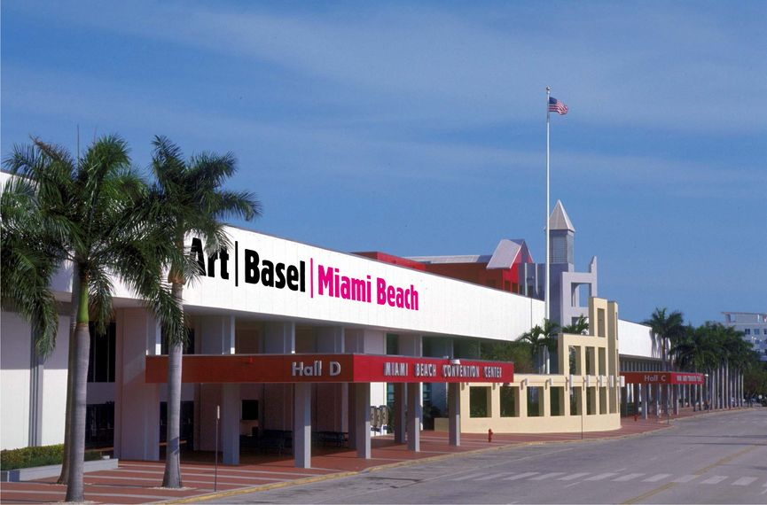 in terms of news reporting, Art Basel Miami was very popular