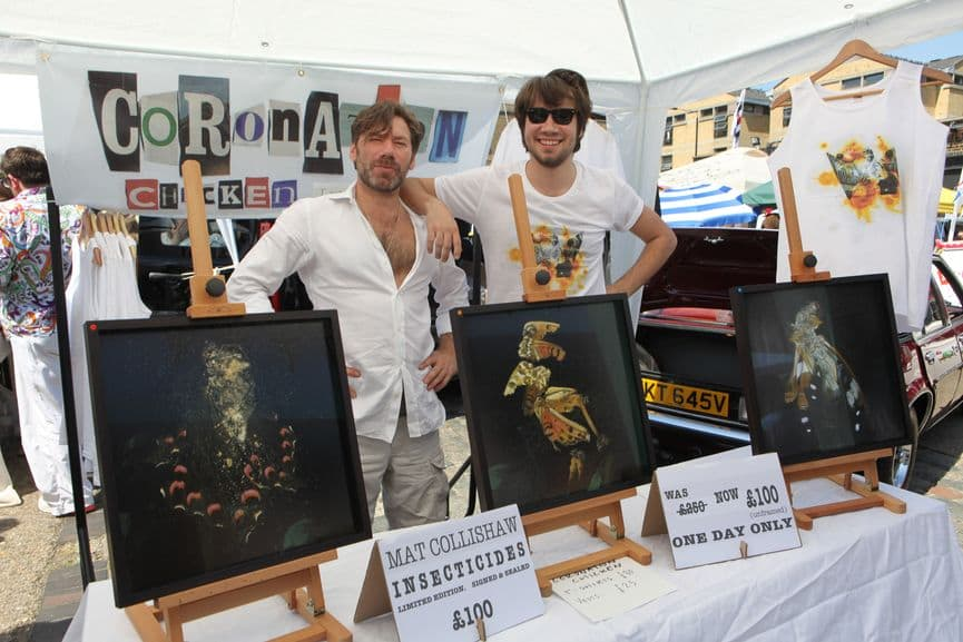 Art Car Boot Fair, London, 2014