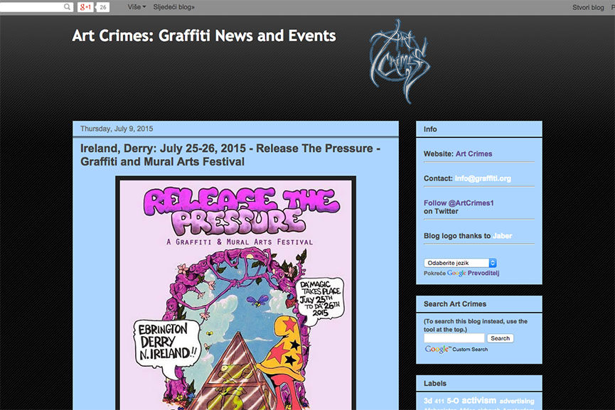 graffiti websites crew tags styles graff media old style site design time