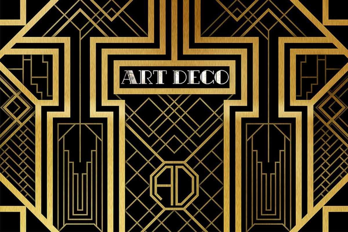 Art deco period one of the most beautiful styles in for Art deco patterns