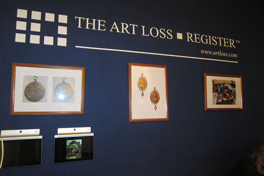 art loss register contact paintings items