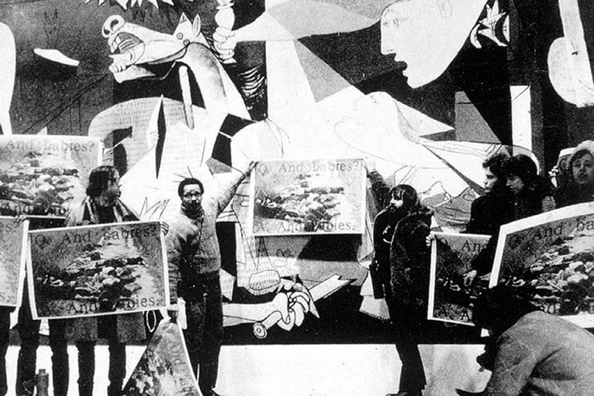 Art Workers Coalition Guernica Protest
