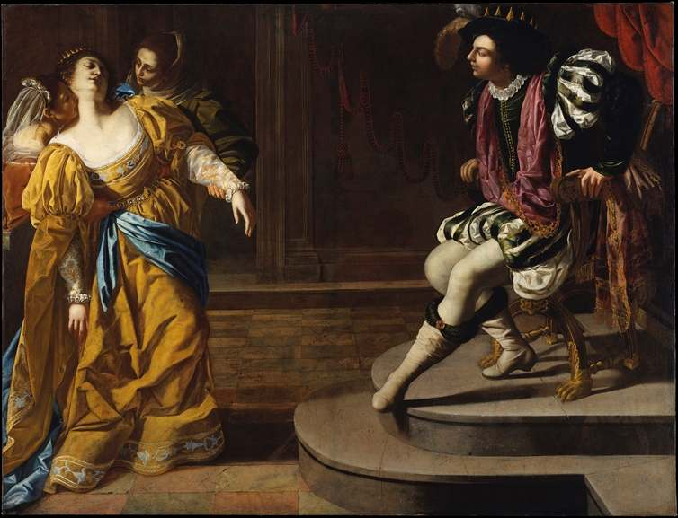 Artemisia Gentileschi - Esther before Ahasuereus