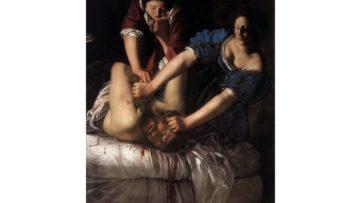 Artemisia Gentileschi - Judith Beheading Holofernes