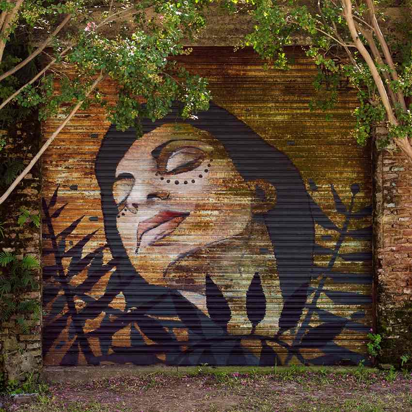 Artez - Decay - Portrait of Paola, Armstrong, Argentina, 2016