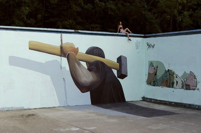 Artez - Miner, Bor, Serbia 2016, photo credits of the artist