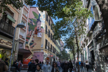 See the 4 New Murals in Madrid, Courtesy Urvanity Art 2019!